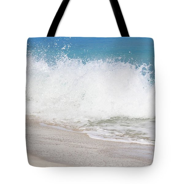 Bimini Wave Sequence 3 Tote Bag