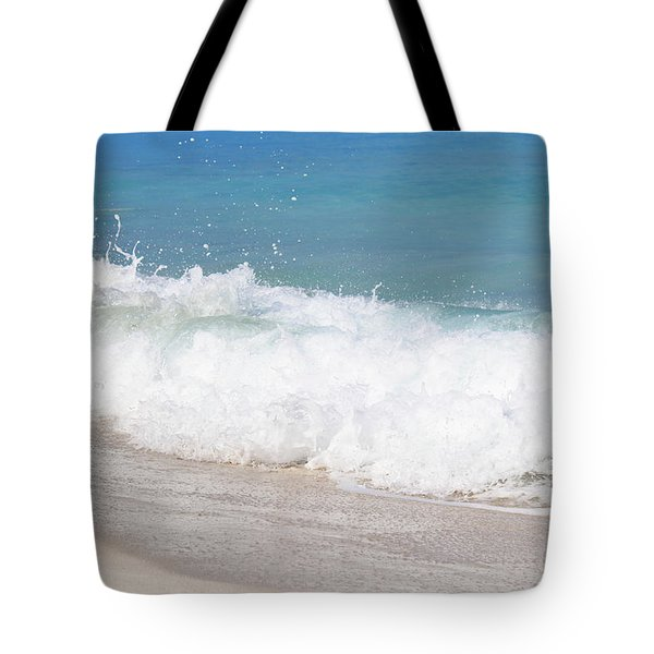 Bimini Wave Sequence 5 Tote Bag