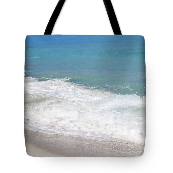 Bimini Wave Sequence 6 Tote Bag