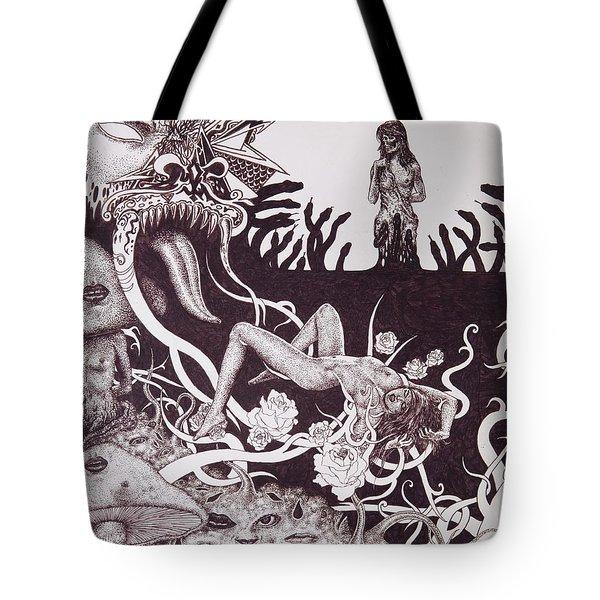 Binah Qlippoth Tote Bag