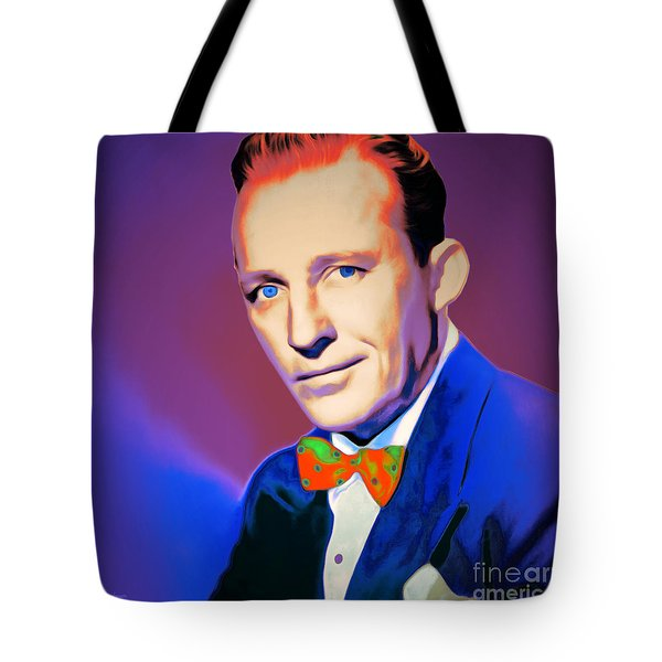 Bing Crosby 20151226 V2 Square Tote Bag