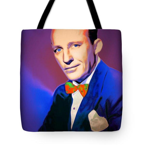 Bing Crosby 20151226v2 Tote Bag