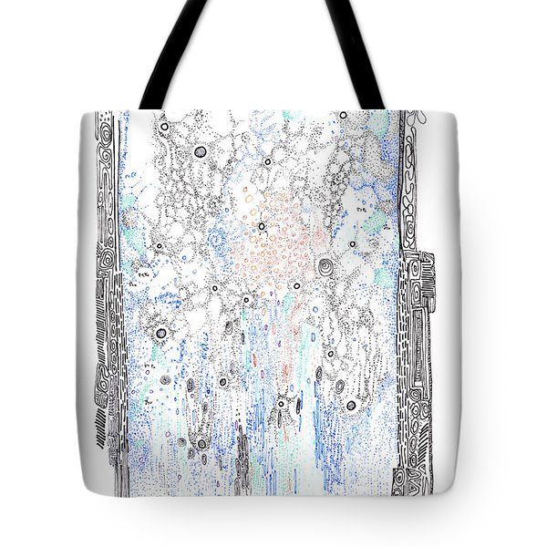 Bingham Fluid Or Paste Tote Bag