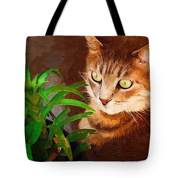 Tote Bag featuring the photograph Bink by Donna Bentley