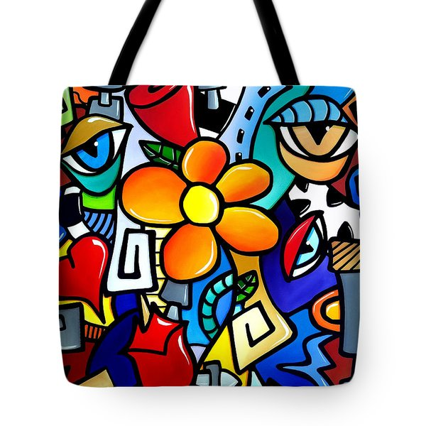 Biomechanical Love Tote Bag