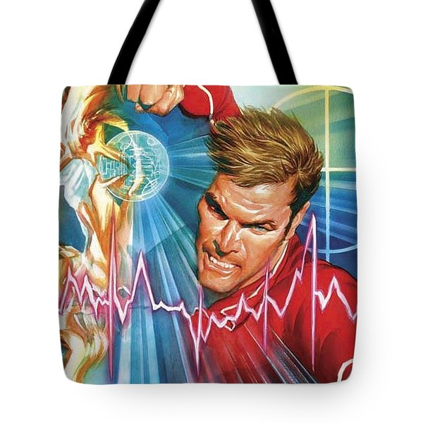Bionic Man Tote Bag