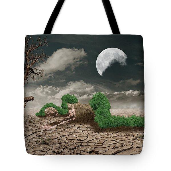 Biotic Decomposition Tote Bag