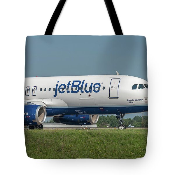 Tote Bag featuring the photograph Bippity Boppity Blue by Guy Whiteley
