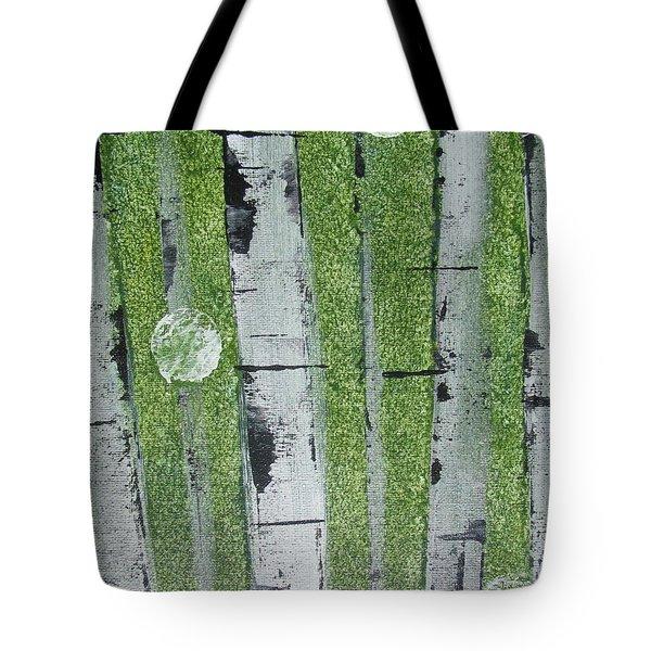 Birch - Green 1 Tote Bag by Jacqueline Athmann