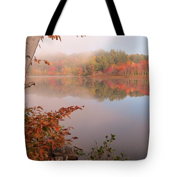 Birch And Beyond Tote Bag by MTBobbins Photography