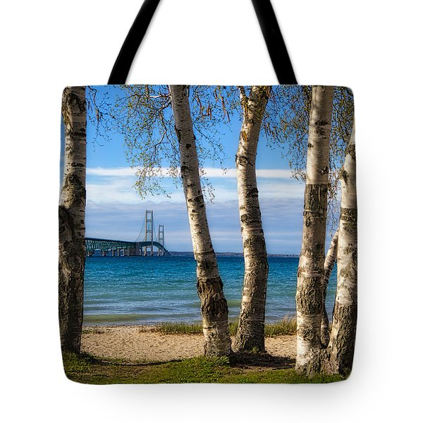 Birch At The Mac Tote Bag