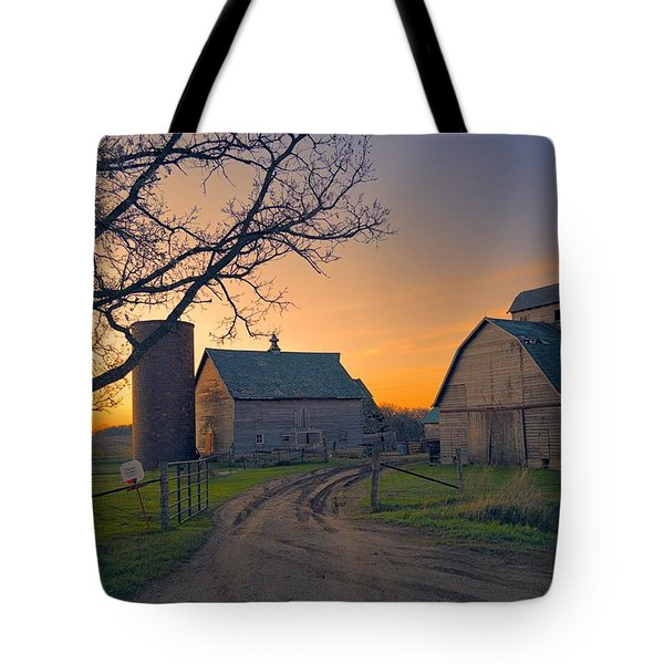 Birch Barn 2 Tote Bag by Bonfire Photography