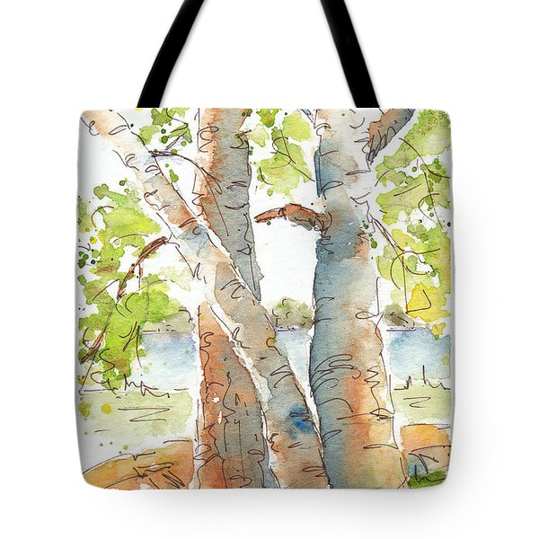 Birch Buddies Tote Bag