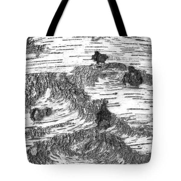 Birch Tote Bag by Colleen Williams
