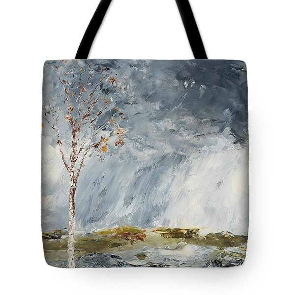 Birch I Tote Bag