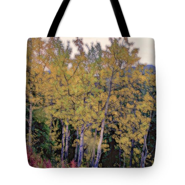 Birch Trees #2 Tote Bag