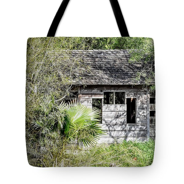 Bird Blind At Frontera Audubon Tote Bag