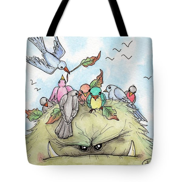 Bird Brained Tote Bag
