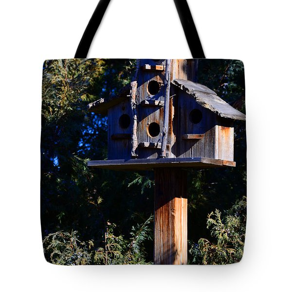 Bird Condos Tote Bag