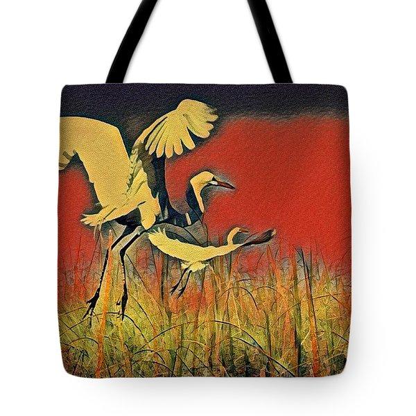 Bird Dreams Tote Bag