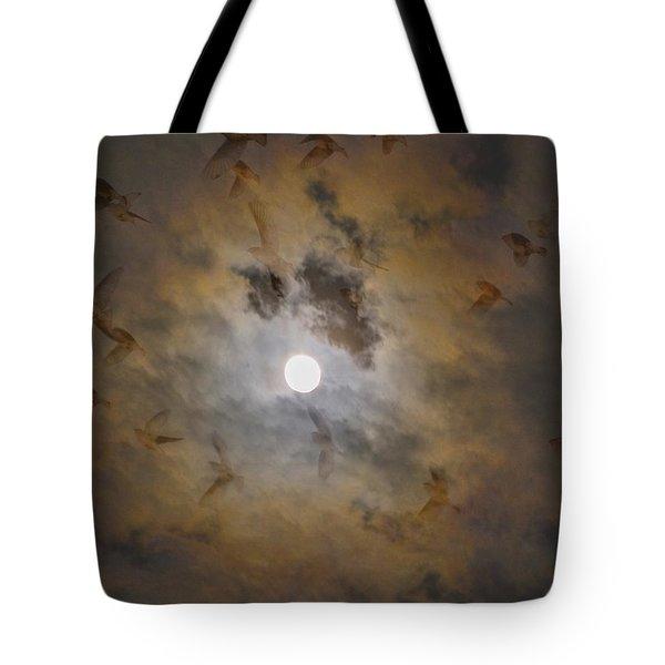 Bird Dreams Tote Bag by Sue McGlothlin