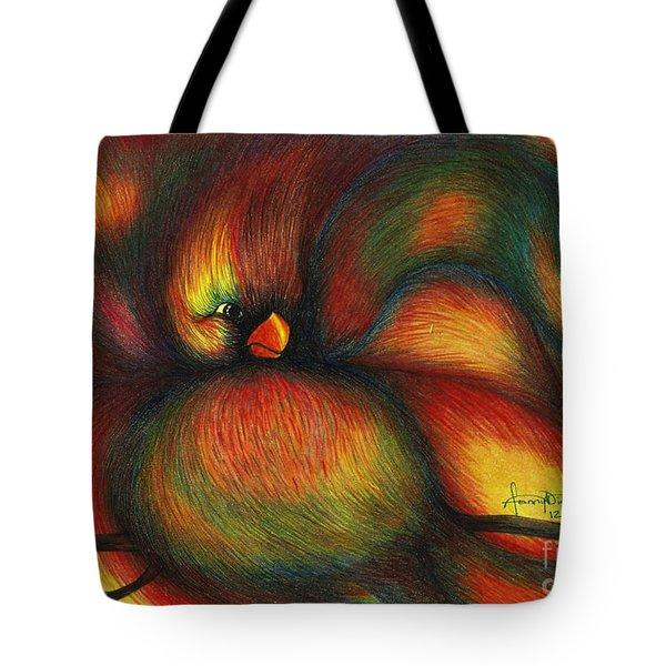 Bird Tote Bag by Fanny Diaz