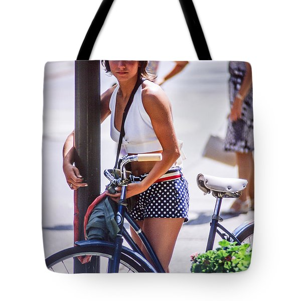 Bird Girl Tote Bag