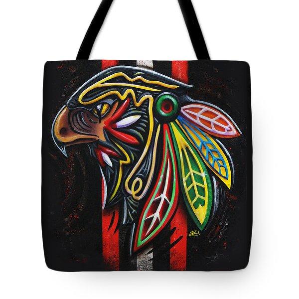 Bird Head Tote Bag by Michael Figueroa