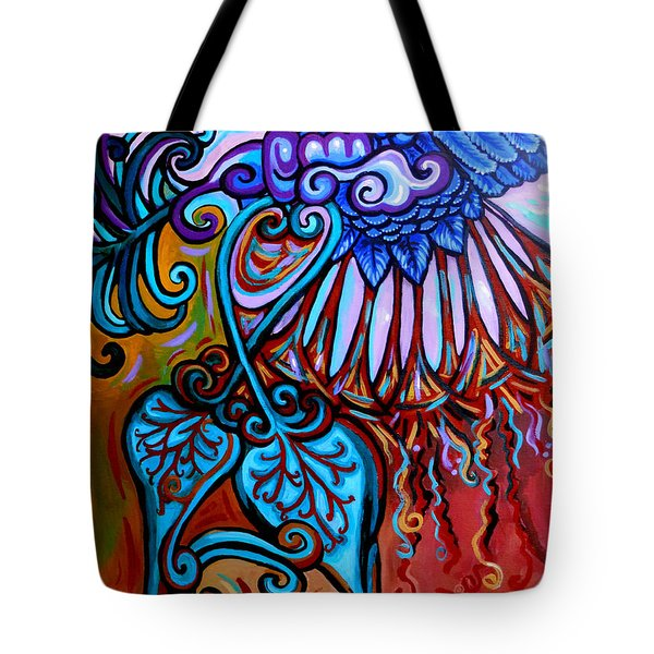 Bird Heart II Tote Bag by Genevieve Esson
