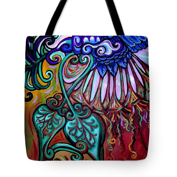 Bird Heart IIi Tote Bag by Genevieve Esson