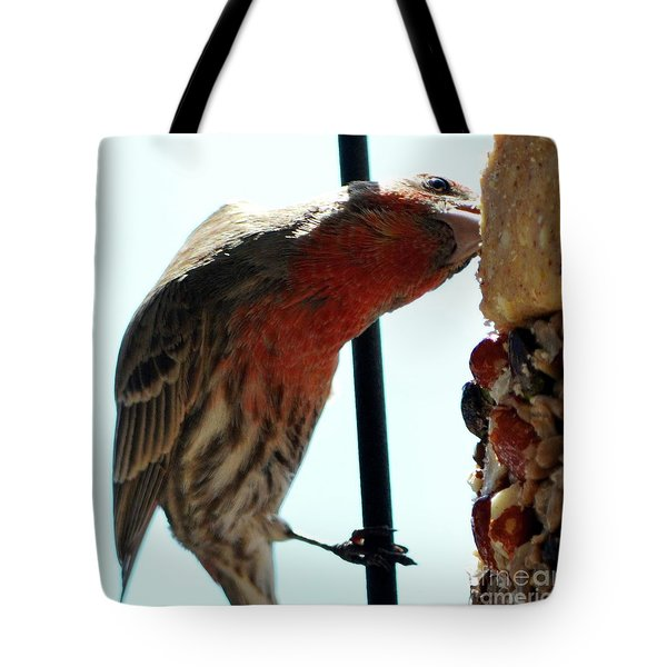 Bird Hits The Jackpot Tote Bag
