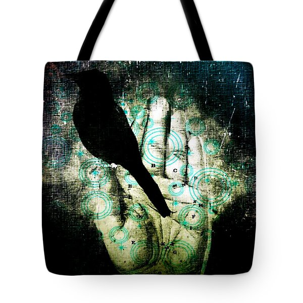 Bird In Hand Tote Bag