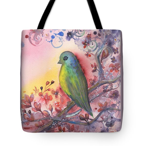 Bird In Paradise   Tote Bag