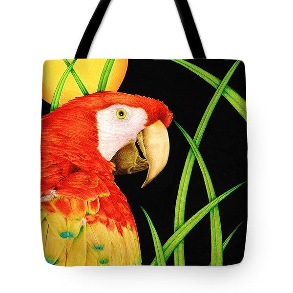 Bird In Paradise Tote Bag