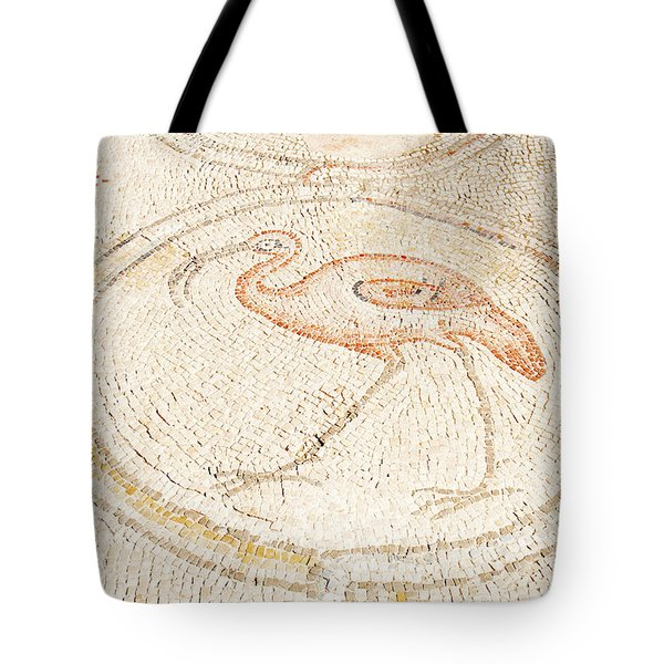 Bird Mosaic Tote Bag by Tal Bedrack