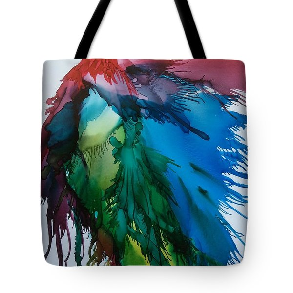 Bird Of  Many Colours Tote Bag