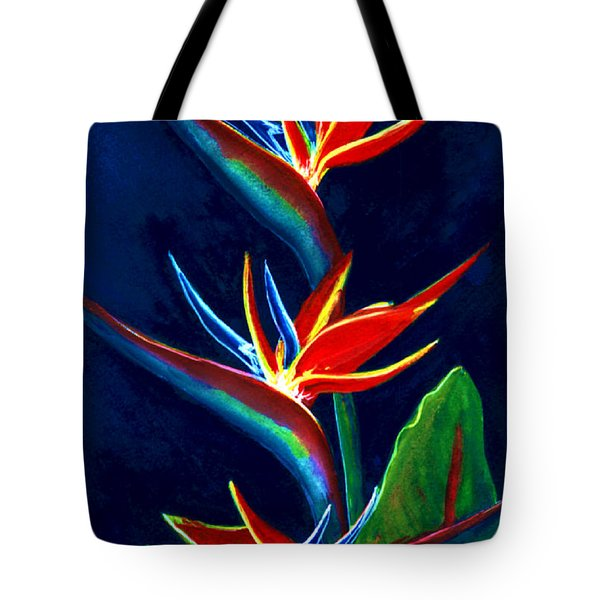 Bird Of Paradise #161 Tote Bag by Donald k Hall