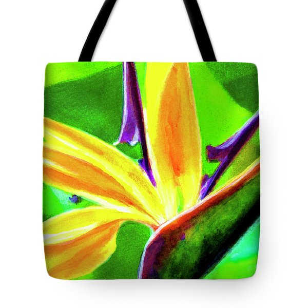 Bird Of Paradise #262 Tote Bag by Donald k Hall