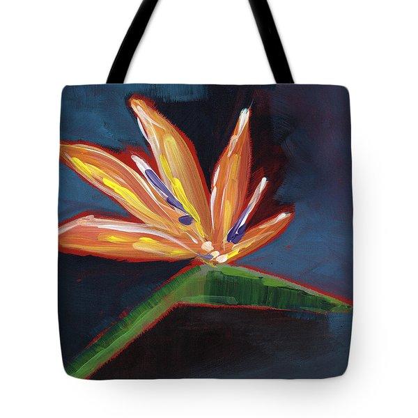 Bird Of Paradise- Art By Linda Woods Tote Bag
