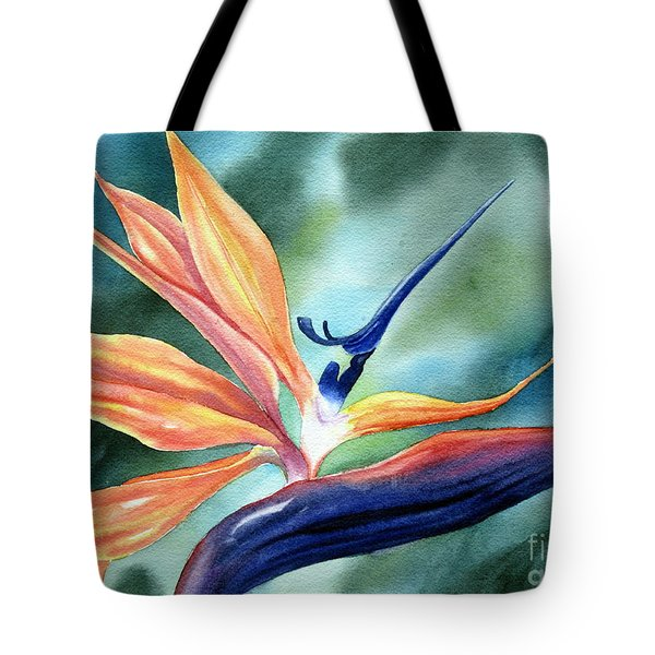 Bird Of Paradise Tote Bag by Deborah Ronglien