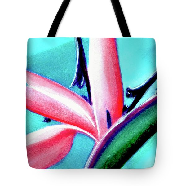 Bird Of Paradise Flower #290 Tote Bag by Donald k Hall