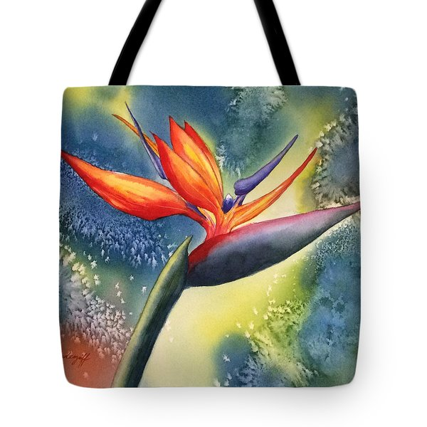 Bird Of Paradise Flower Tote Bag