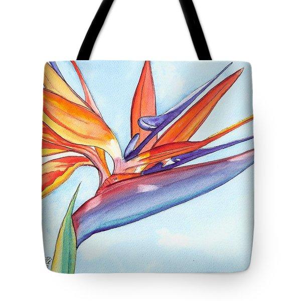Bird Of Paradise IIi Tote Bag