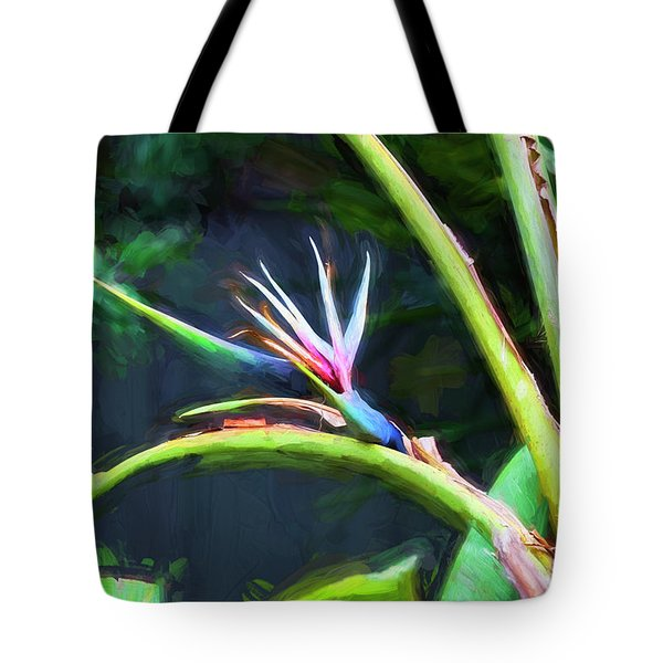 Bird Of Paradise Strelitzia Reginae 003 Tote Bag
