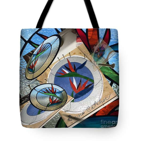 Bird Of Pardise Starling Saver Tote Bag