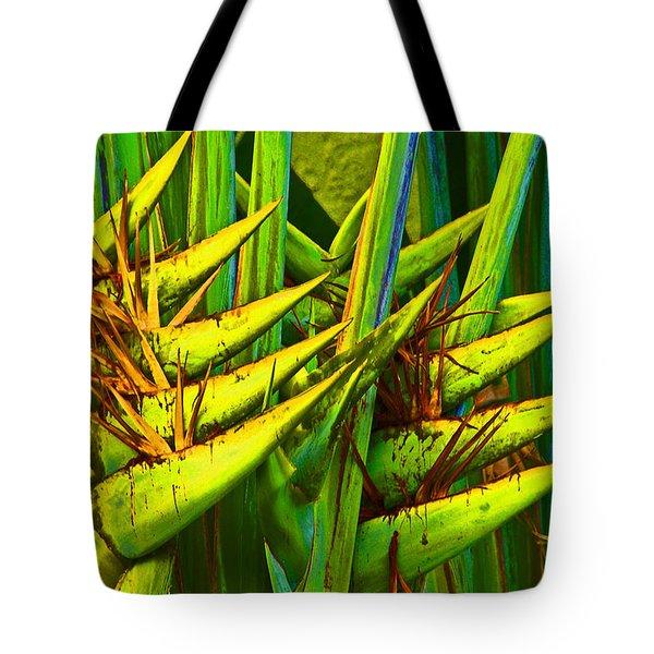 Bird Of Paridise Tote Bag