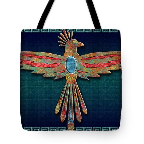 Bird Of Thunder Tote Bag