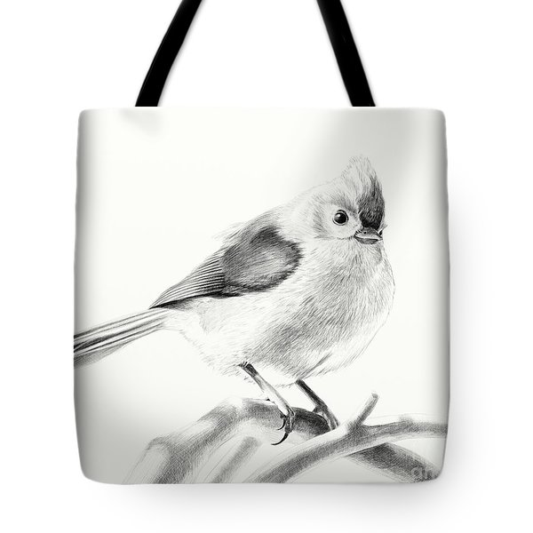 Bird On A Branch Tote Bag by Eleonora Perlic