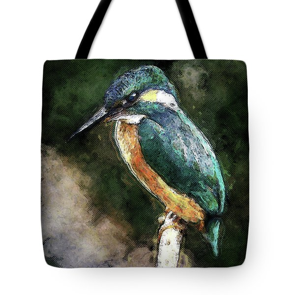 Bird On A Branch Tote Bag by Phil Perkins
