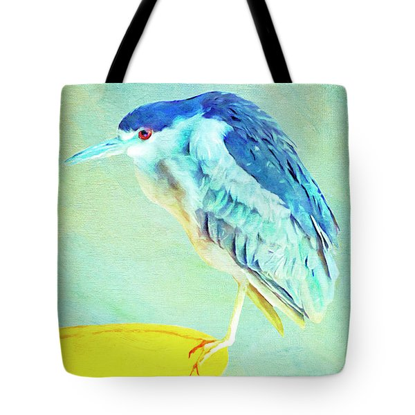 Bird On A Chair Tote Bag